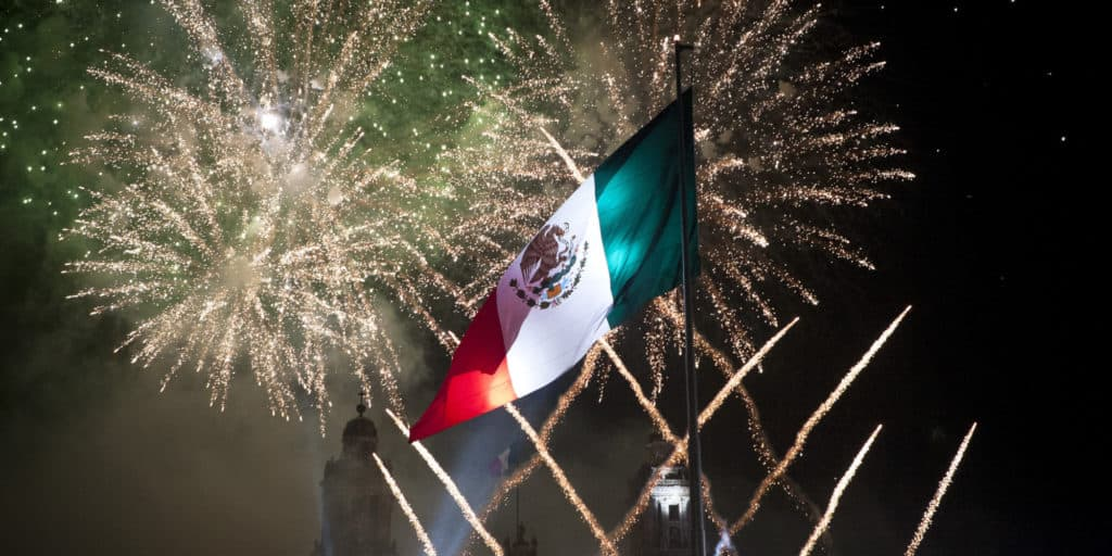 Mexican holidays such as Independence Day are great for tourists as well